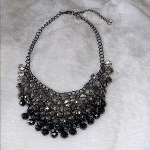 Tri-color Cluster Necklace